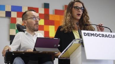 Podemos carga contra Sánchez por su apoyo a Rajoy frente a una DUI