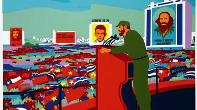 La iconografia pop de Fidel Castro
