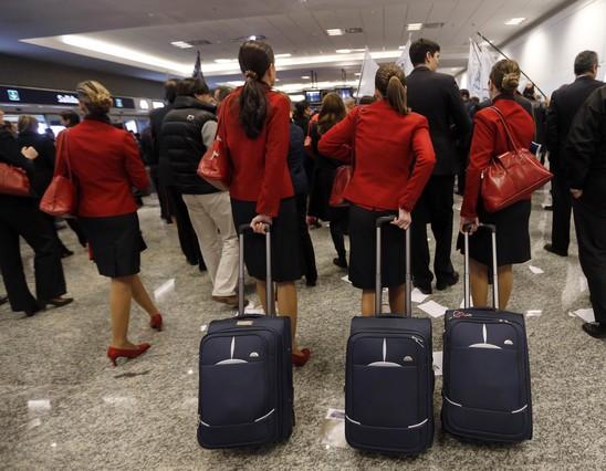 Despedida una azafata por tener sexo con pasajeros durante el vuelo