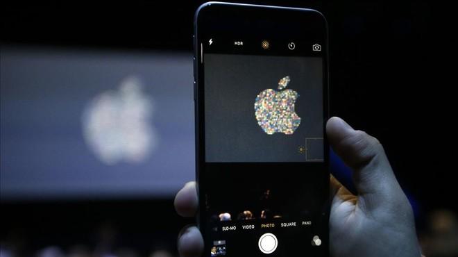 Imagen de la conferencia de desarrolladores de Apple en San Francisco.