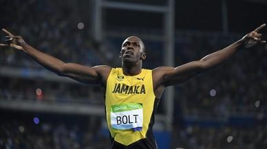 Bolt suma la vuitena d'or al guanyar el 200 amb facilitat