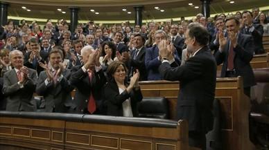 Rajoy, la vicepresidenta i el dossier català