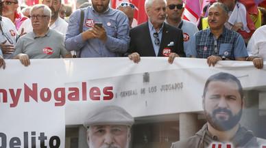 Álvarez i Toxo exigeixen la derogació de la 'llei mordassa' per limitar el dret a la vaga