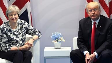 Trump aplaza hasta el 2018 la visita de Estado que tenía previto hacer este año al Reino Unido