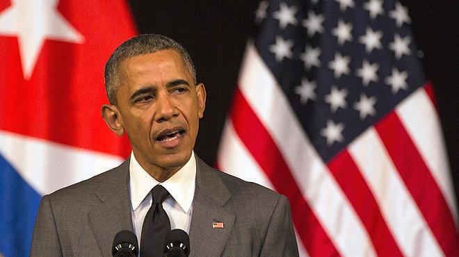 """Tras los atentados de Bruselas, Obama ha hechoun llamamiento a la unión y ha ofrecidoel apoyo de Estados Unidosa la """"amiga y aliada"""" Bélgica."""