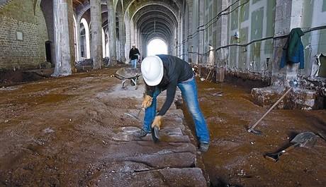 Les naus de les Drassanes es van construir despr�s del g�tic