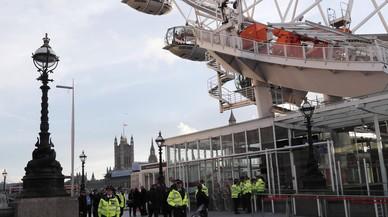 Un centenar d'escolars espanyols van quedar atrapats al London Eye després de l'atemptat