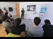 Presentación de una de las start-ups de Startupbootcamp.