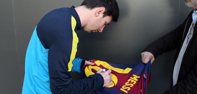 El recuerdo de Messi para M�ller