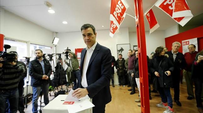 Les bases del PSOE ratifiquen l'acord amb Ciutadans