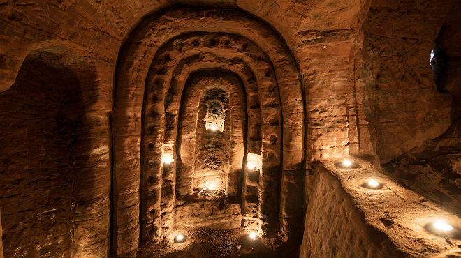 Una conejera escondía un santuario templario de más de 700 años.