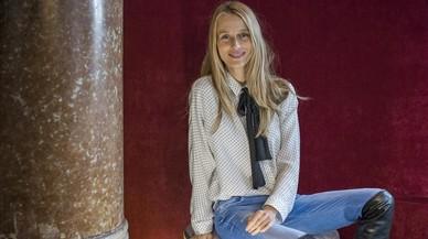 Vanesa Lorenzo posa en la Casa Fuster, en Barcelona.