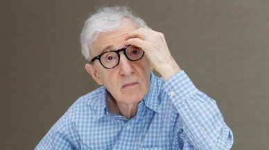 Woody Allen, en Nueva York, durante la promoci�n de 'Caf� Society'.