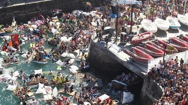 La izquierda aberzale también protesta contra el turismo
