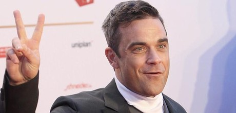El cantante brit�nico Robbie Williams.