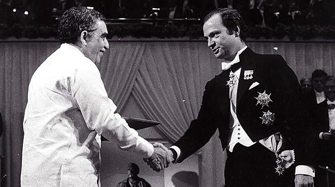 Discurso de Gabriel garcía Márquez de aceptación del premio Nobel de Literatura 1982
