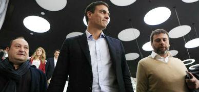 S�nchez exige a Rajoy que inicie un di�logo con Catalunya