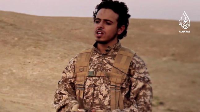 Bilal Hadfi, también conocido por su nombre de guerra Abu Mujaed al-Baljiki.