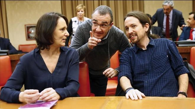 Podem deixa la clau d'un govern alternatiu en mans del PSOE