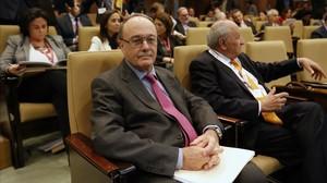 El gobernador del Banco de España, Luis María Linde, en una foto de archivo.