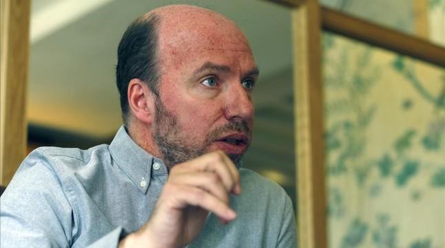 El guionista Jorge Guerricaechevarría.
