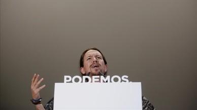 Iglesias reivindica un Podem radical per liderar l'oposició