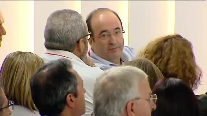 Miquel Iceta reconoce el error de haber ido por libre en la abstención a Rajoy