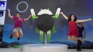 Presentación del nuevo sistema operativo Android Oreo.