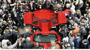 Máxima expectación para el Salón Internacional del Automóvil de Fráncfort.