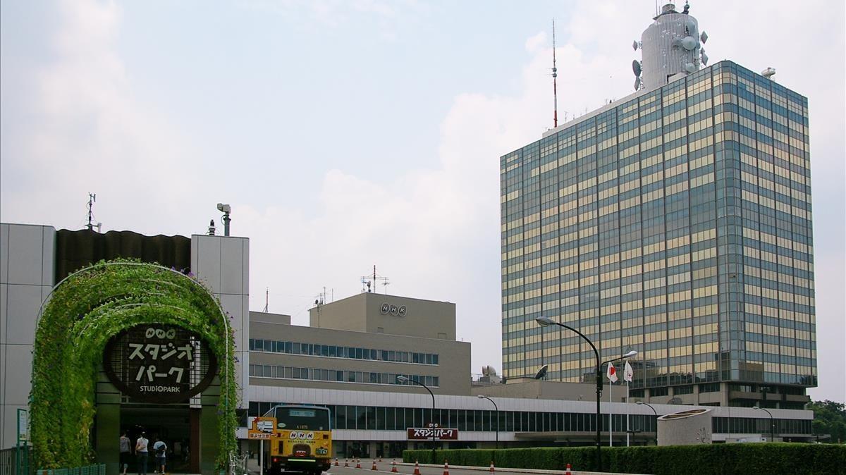 zentauroepp15498114 imagen de la sede central de la televisi n estatal japonesa171005091307
