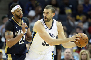 NBA: New Orleans Pelicans at Memphis Grizzlies