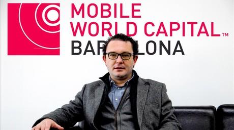 Aleix Valls, consejero delegado de la Mobile World Capital Barcelona (MWCB).
