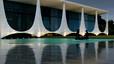 Palacio Alvorada, residencia oficial del Presidente de Brasil. Diseñado por Niemeyer