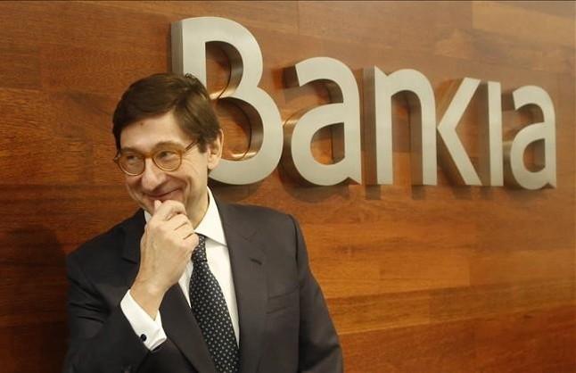 Bankia gana m�s de 1.000 millones de euros en el 2015