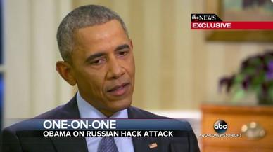 """Obama adverteix a Trump: """"Putin no és del nostre equip"""""""