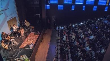 Concierto del grupo Mirás en el Espai Francesca Bonnemaison dentro del nowruz iraní.