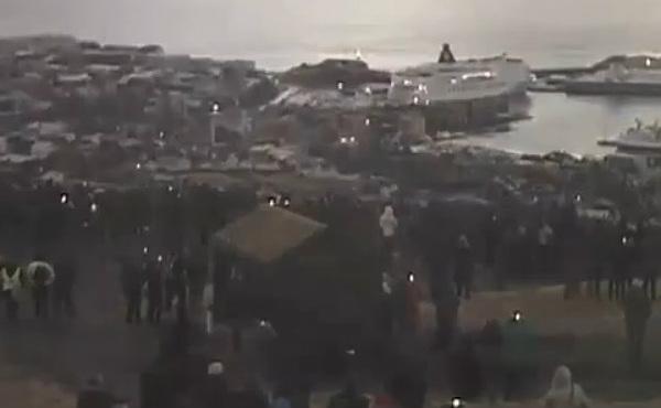 Centenares de curiosos disfrutaron del eclipse desde las islas Feroe.