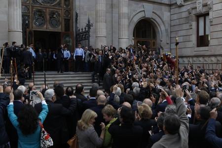 Artur Mas declara ante el juez por la consulta del 9-N