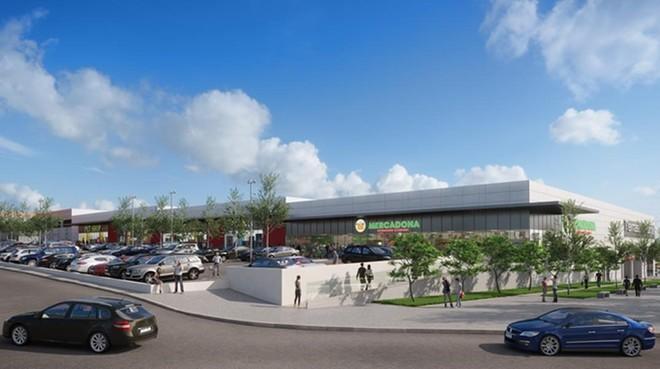 Disseny del nou centre comercial de Terrassa.
