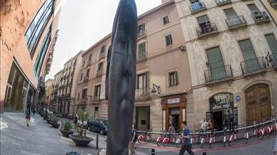L'Ajuntament i Plensa negocien que l'escultura 'Carmela' es quedi a Barcelona