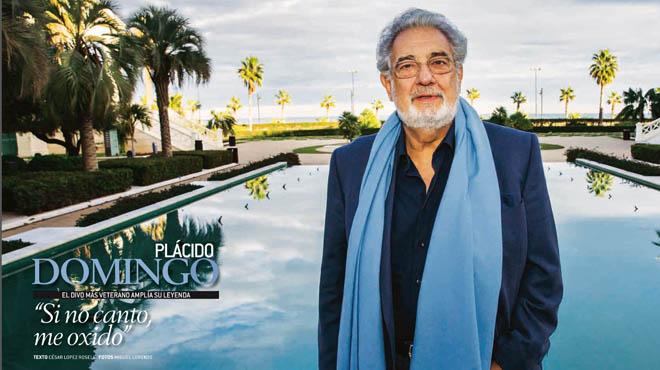 "Plácido Domingo: ""Mai m'havia pensat que seguiria cantant a la meva edat"""