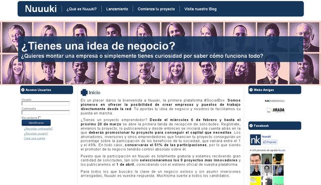 Nace una red social para cofinanciar proyectos empresariales de j�venes emprendedores
