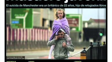 """""""La secessió perd suports"""", titula 'El País', que insta les Corts a actuar, amb Rajoy o sense"""