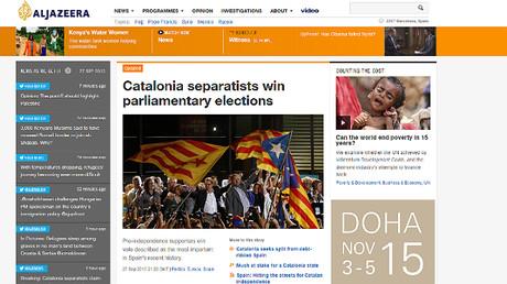 La prensa internacional destaca la victoria del independentismo