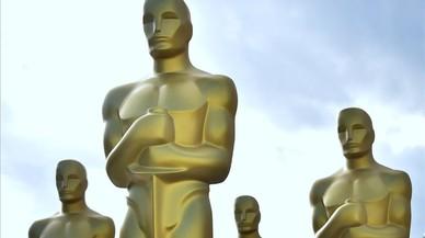 Preparativos de los Oscar 2017 en Los Ángeles.