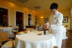 El restaurante Sant Pau, en Sant Pol de Mar, uno de los que forman parte de la lista de www.comersinruido.org.