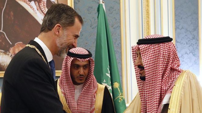 El rey Felipe en Arabia Saudí