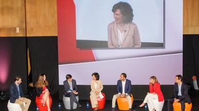 "Ana Botín anima a contruir ""un sistema educativo más potente"""