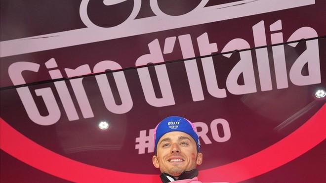 Landa entra en perfecta sintonia amb el Giro