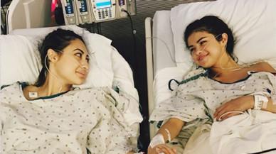 Selena Gómez se somete a un trasplante de riñón donado por una amiga